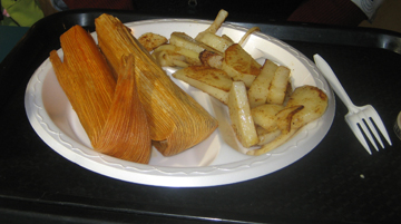Tamales for Breakfast